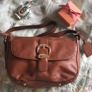 DKNY brown handbag
